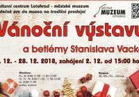 Vánoční výstava a betlémy - Městské muzeum Letohrad