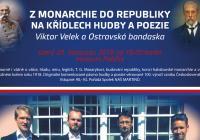 Z monarchie do republiky na křídlech hudby a poezie Viktor Velek a Ostravská bandaska