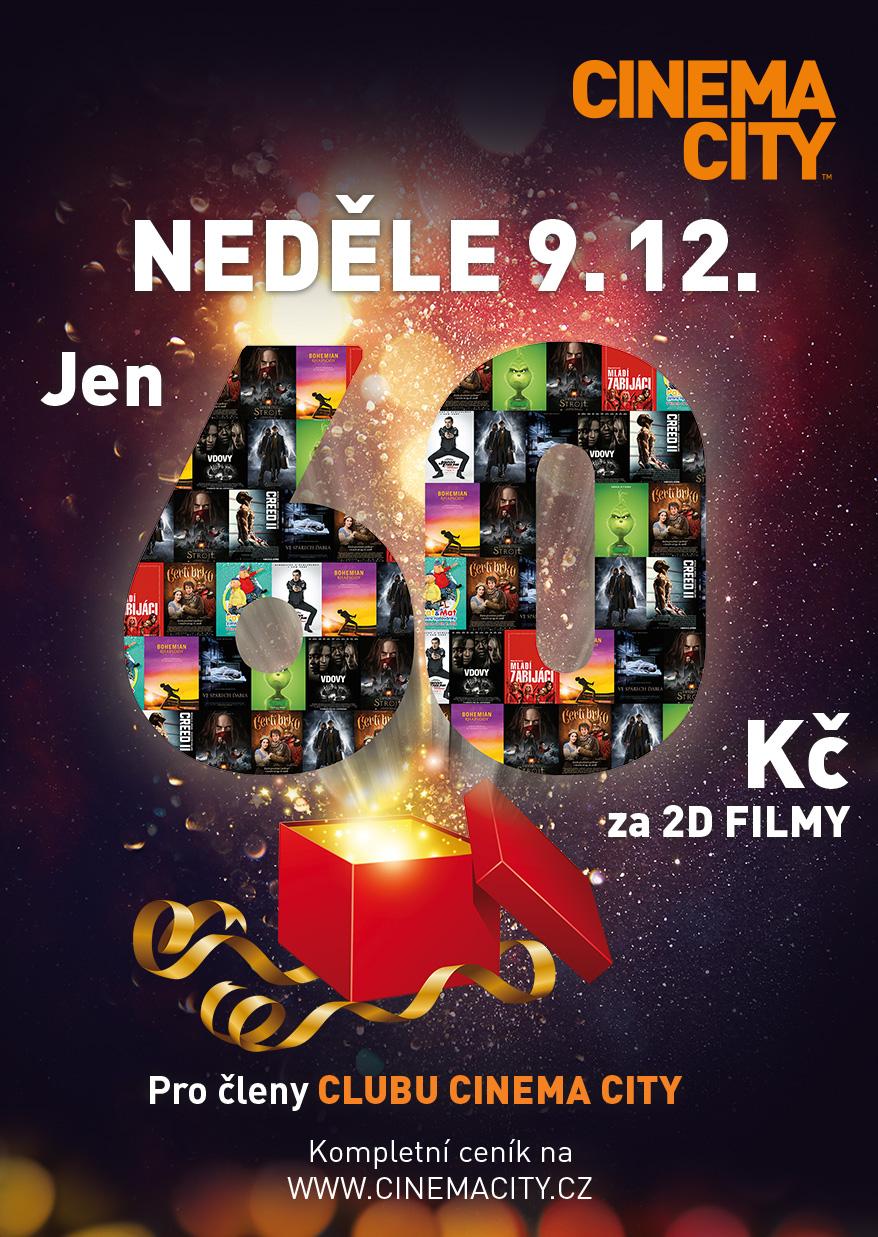 Levná neděle - Cinema City Nový Smíchov Praha