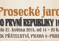 Prosecké jaro - Park Přátelství Praha