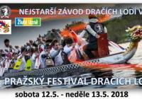 Festival dračích lodí - Žluté lázně Praha