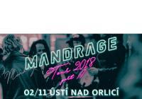 Mandrage Tour - Kulturní dům Ústí nad Orlicí