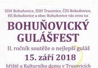 Bohuňovický gulášfest 2018