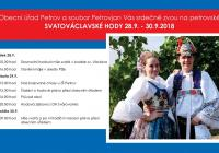 Svatováclavské hody - Petrov