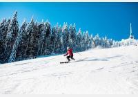 Ještěd v zimě - za lyžováním, sáňkařskou dráhou, slavným vysílačem i relaxací