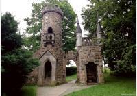 Františkovy Lázně - na rozhlednu Salingburg