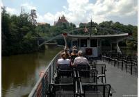 Brno – lodí za majestátním hradem Veveří