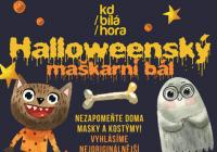 Halloweenský rej masek Praha Řepy