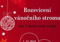 Rozsvícení vánočního stromu - Jaroměř