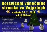 Rozsvícení vánočního stromu - Vejprty