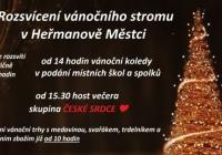 Rozsvícení vánočního stromu - Heřmanův Městec