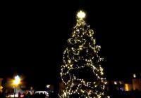 Rozsvícení vánočního stromu - Osečná