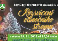 Rozsvícení vánočního stromu - Ždírec nad Doubravou