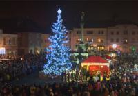 Rozsvícení vánočního stromu s Mikulášem - Mohelnice
