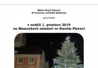 Rozsvícení vánočního stromu - Starý Plzenec
