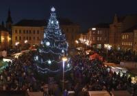 Rozsvícení vánočního stromu - Rumburk