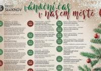 Rozsvícení vánočního stromu - Šluknov