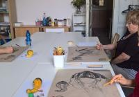 Dopolední kurz kresby