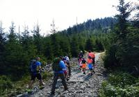 Nahoru na horu - Beskydy - Radhošť