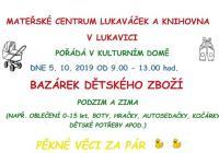 Bazárek dětského oblečení - Rychnov nad Kněžnou