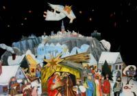 Advent u divadelního betlému