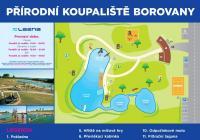 Přírodní koupaliště Lazna, Borovany
