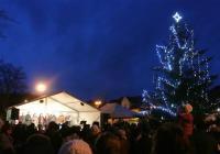 Rozsvícení vánočního stromu - Letovice