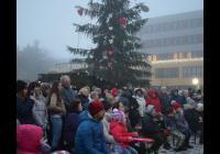 Rozsvícení vánočního stromu - Stochov