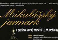 Mikulášský jarmark s rozsvícením vánočního stromu - Dobřany