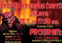Průvod Krampus čertů - Jihlava