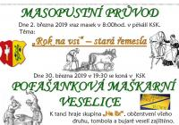 Masopust - Vlčnov