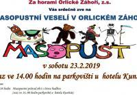 Masopust - Orlické Záhoří