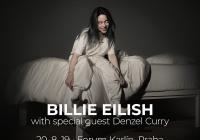 Billie Eilish v Praze