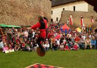 Rytířské slavnosti na hradě Točník