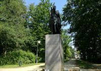 Socha císaře Františka I., Františkovy Lázně