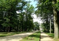 Parková promenáda, Františkovy Lázně