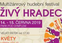 Multižánrový hudební festival Živý Hradec