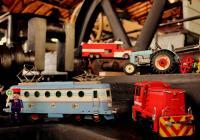 Mašinky a hračky ve Výtopně Jaroměř