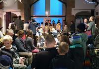 Betlémské světlo v Písecké bráně - Praha