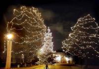 Rozsvícení vánočního stromu - Písecká brána Praha