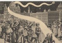 Halleyova kometa v roce 1910 - předzvěst apokalypsy?
