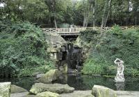 Jezírko s vodopádem, Praha 5