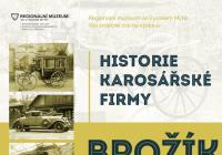 Historie karosářské firmy Brožík Plzeň