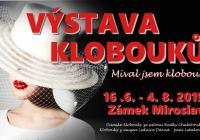 Výstava klobouků na zámku Miroslav