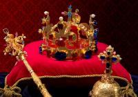 Korunovační klenoty na zámku Vranov nad Dyjí