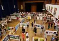 Vernisáž výstavy výtvarného umění