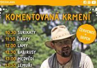 Komentovaná krmení - Zoo Jihlava