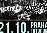 Entombed A.D. / Aborted / Baest v Praze