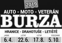 Velká letní Auto-Moto-Veteran burza Drahotuše