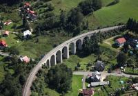 Železniční viadukt Smržovka, Smržovka
